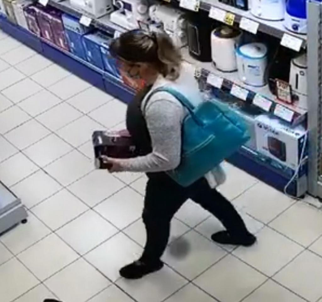 Кража в магазине техники Комрата: полиция просит помощи граждан (Видео)